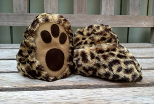 Image of Leopard Booties
