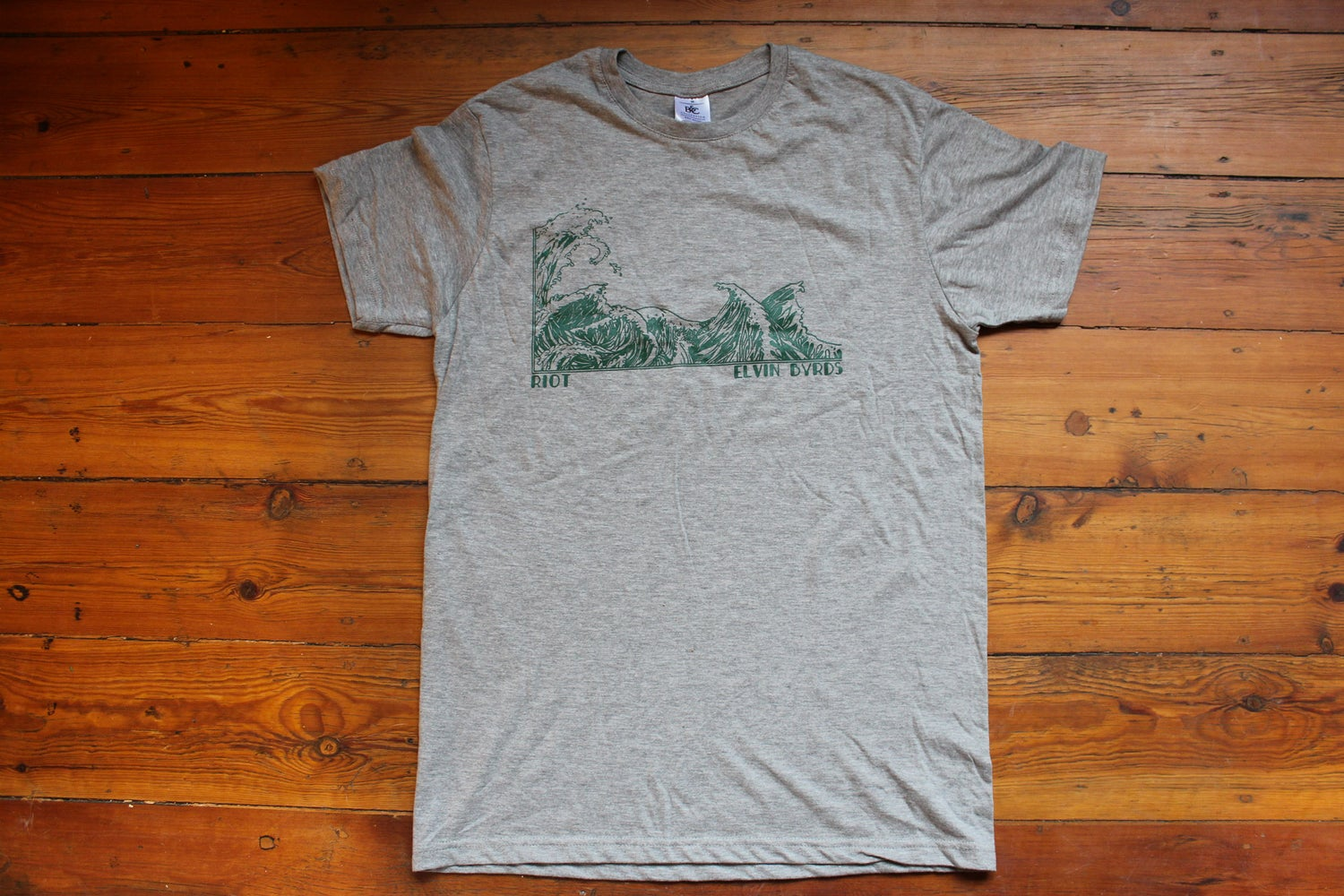 Image of ELVIN BYRDS — T-Shirt (Grey)