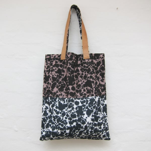 Image of Printed tote bag / Marble # 1
