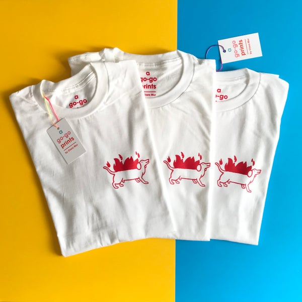 Image of HOT DOG  TSHIRT 2