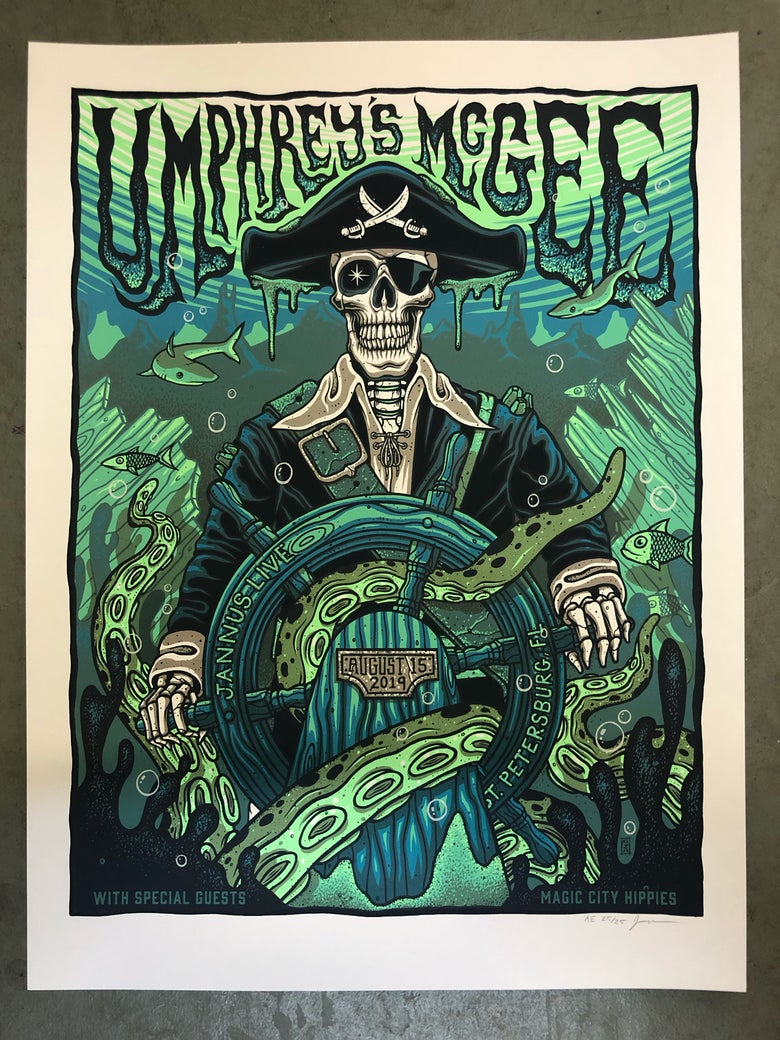 Image of Umphrey's McGee - August 15th, 2019 - Artist Edition