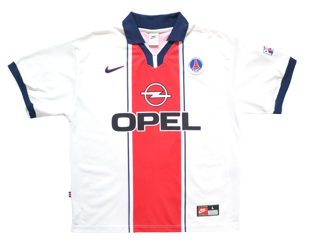 Image of 1997-98 Nike PSG Away Shirt L