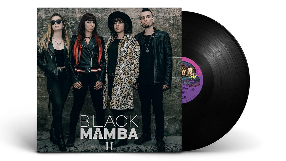 Image of Black Mamba II - Vinyl Black