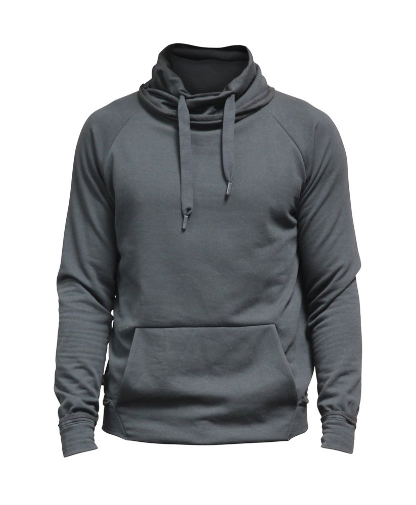Image of French Terry Mock Neck