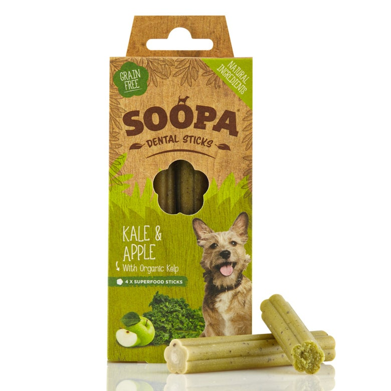 Image of SOOPA kale & apple dental sticks