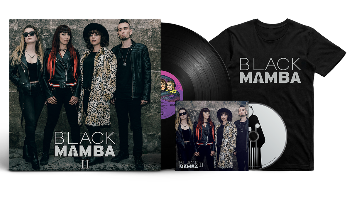 Image of Platinum Bundle: Black Mamba II LP + CD + T-Shirt
