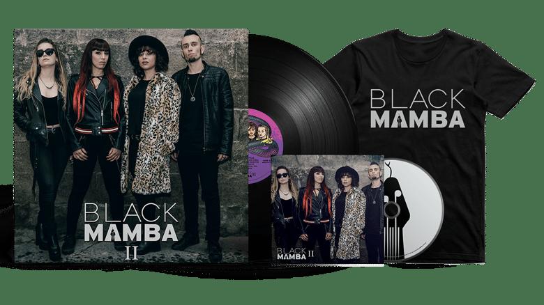 Image of Platinum Bundle: Black Mamba II LP + CD + T-Shirt