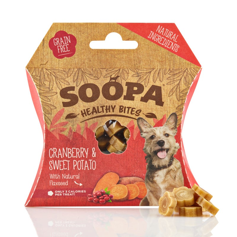 Image of SOOPA cranberry & sweet potato healthy bites