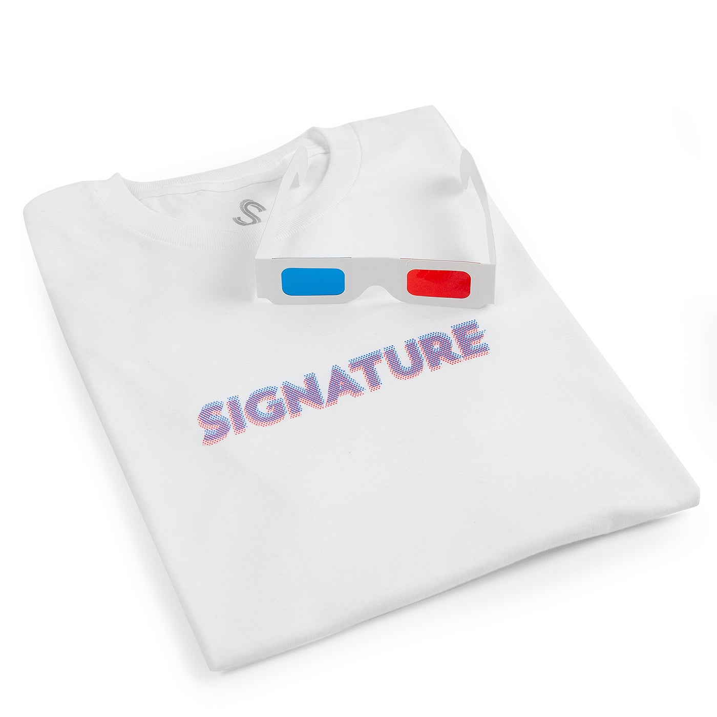 Image of 3D LOGO T SHIRT - WHITE