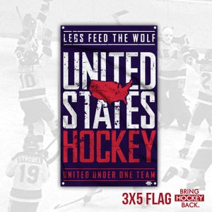Image of United under one team - Team USA 3x5 Flag [FREE SHIPPING]
