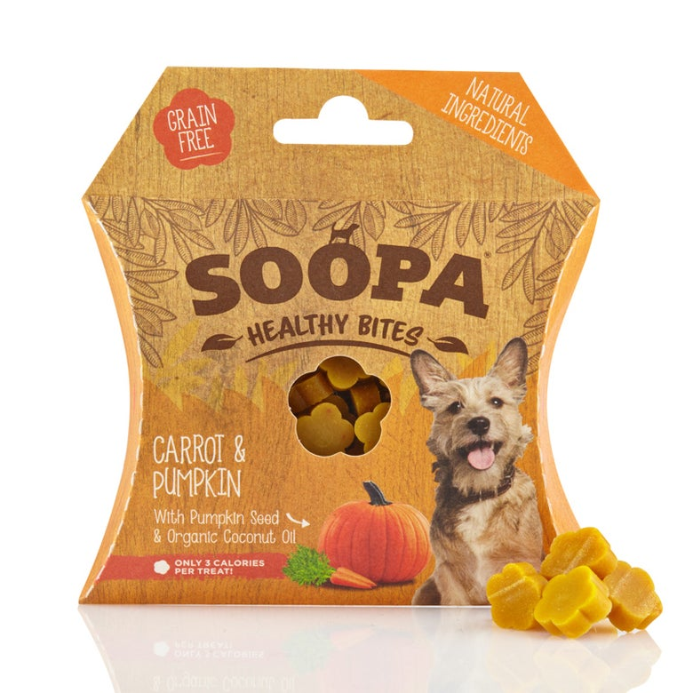 Image of SOOPA carrot & pumpkin healthy bites