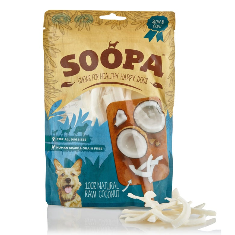 Image of SOOPA 100% natural raw coconut chew