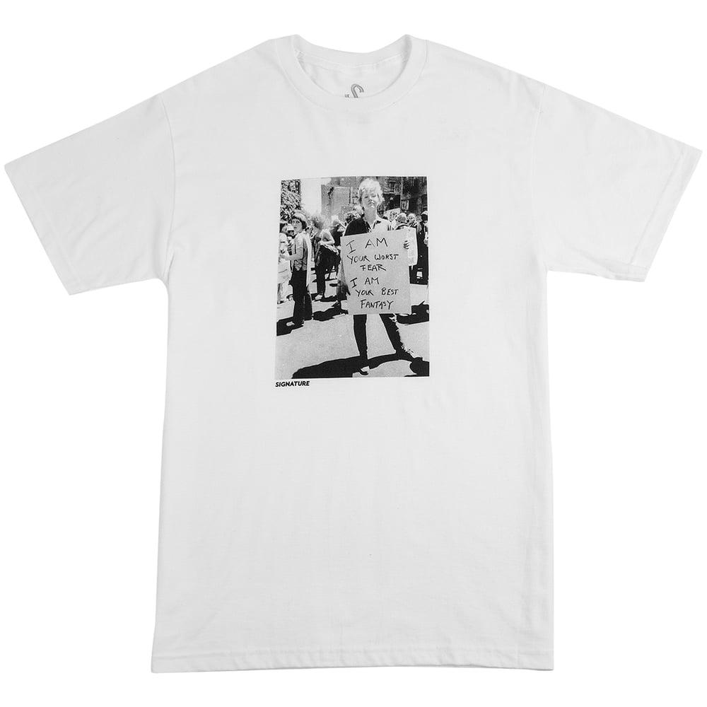 Image of FANTASY T SHIRT - WHITE