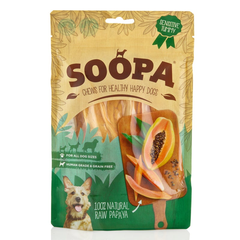 Image of SOOPA 100% natural raw papaya chew