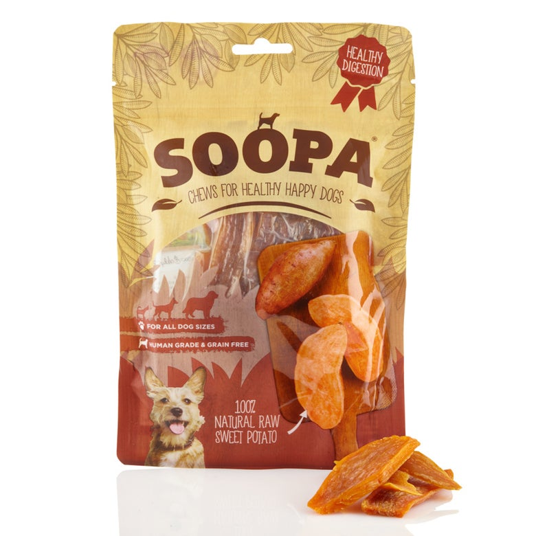 Image of SOOPA 100% natural raw sweet potato chew