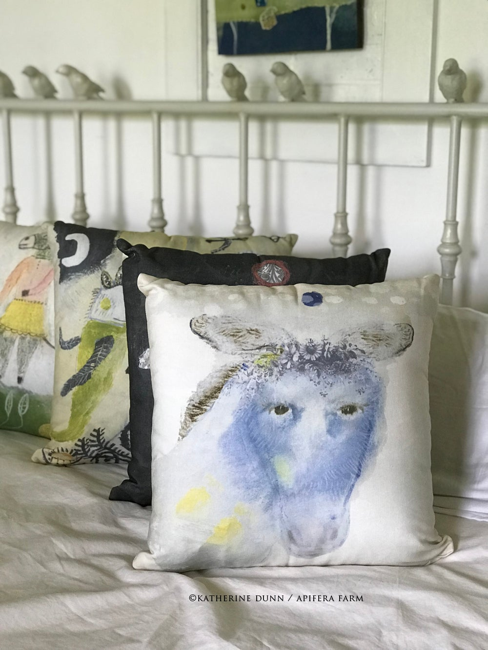 Image of Wisdom Pillow: Wears Clouds