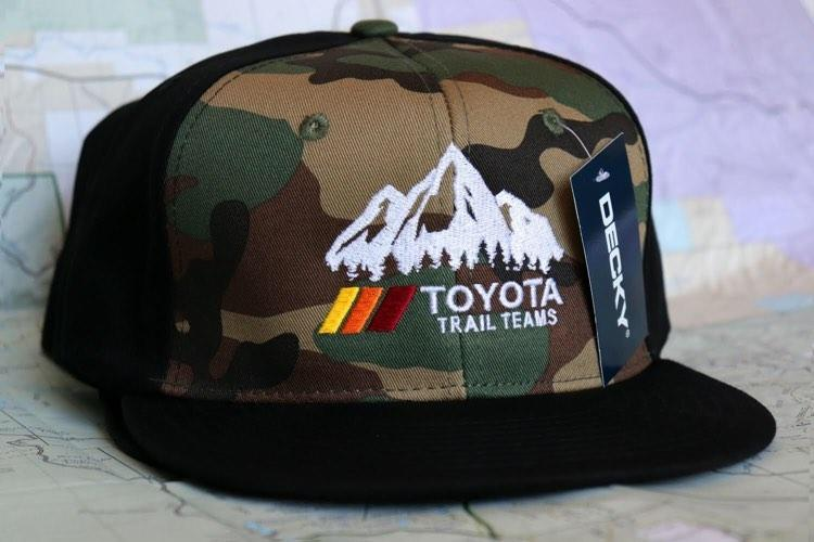 Image of Trail Teams camo flat bill hat