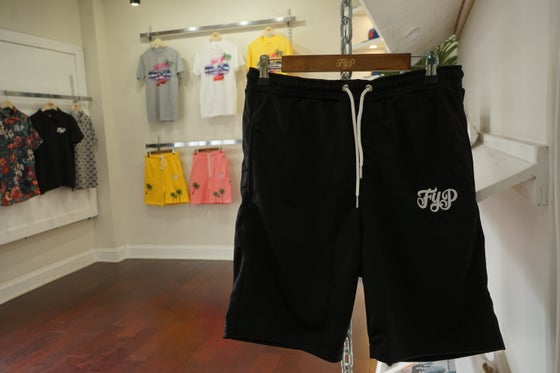 Image of Fyp Black Polyester shorts