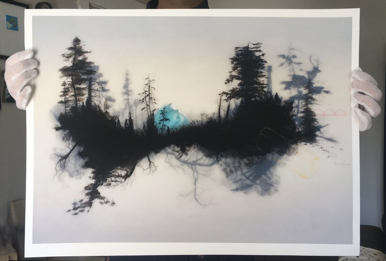 Image of Denali, Aware Of All The Things - Giclee print