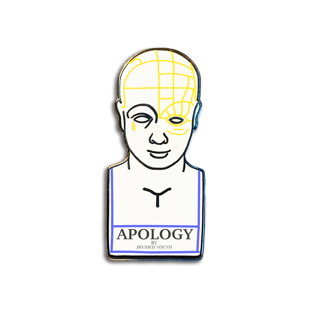 Image of APOLOGY BUST PIN
