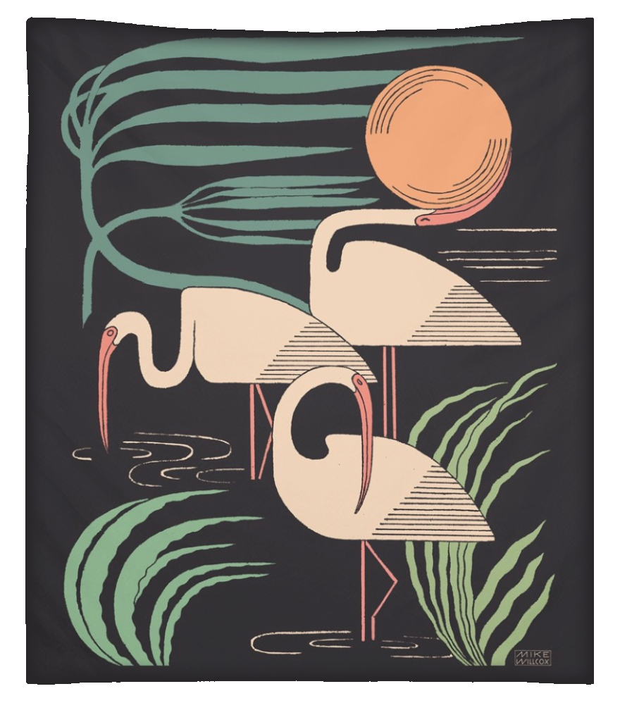 Image of Ibis & Hurricane Tapestry 2nd Edition