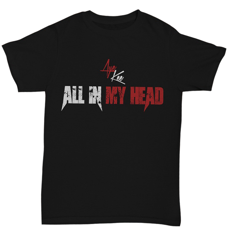 """Image of """"All In My Head"""" Title Promo T-Shirt"""