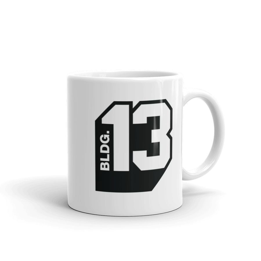 Image of Women's Bldg.13 Logo Signature Mug
