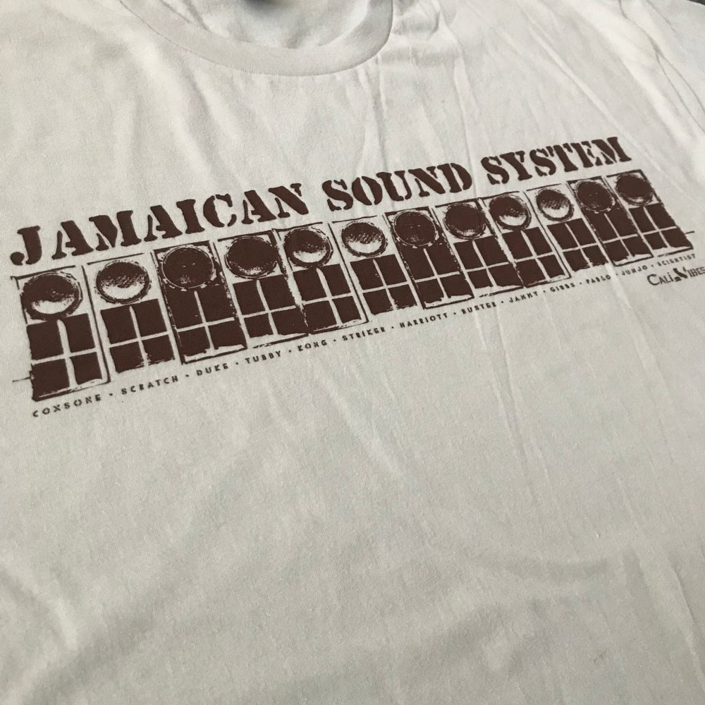 Image of ***NEW*** JAMAICAN SOUND SYSTEM Sand Brown Shirt