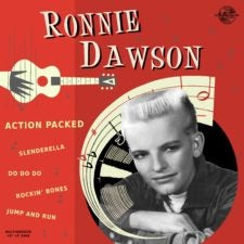 "Image of 10"" LP. Ronnie Dawson : Action Packed.   Ltd Edition 10""."