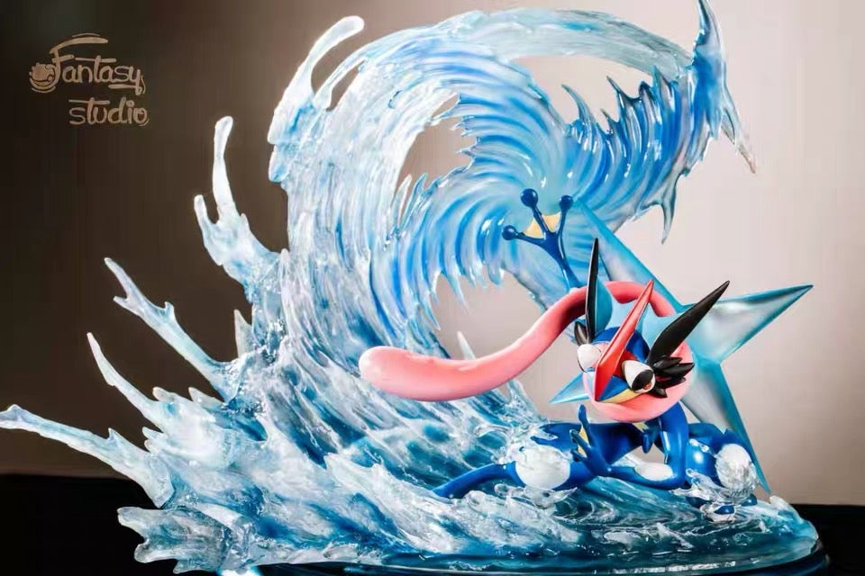 Image of [Pre-Order]Pokemon Fantasy Studio Greninja Resin Statue