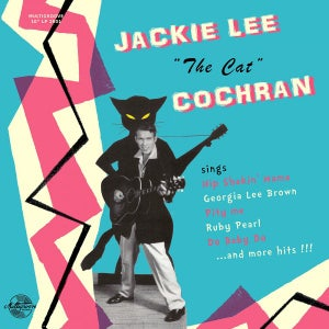 "Image of 10"" LP. Jackie Lee Cochran : The Cat.      Ltd Edition 10"""