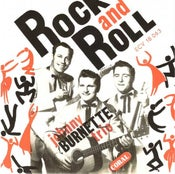 "Image of 7"" EP. Johnny Burnette Trio : Rock n Roll.  Limited edition Re-issue"