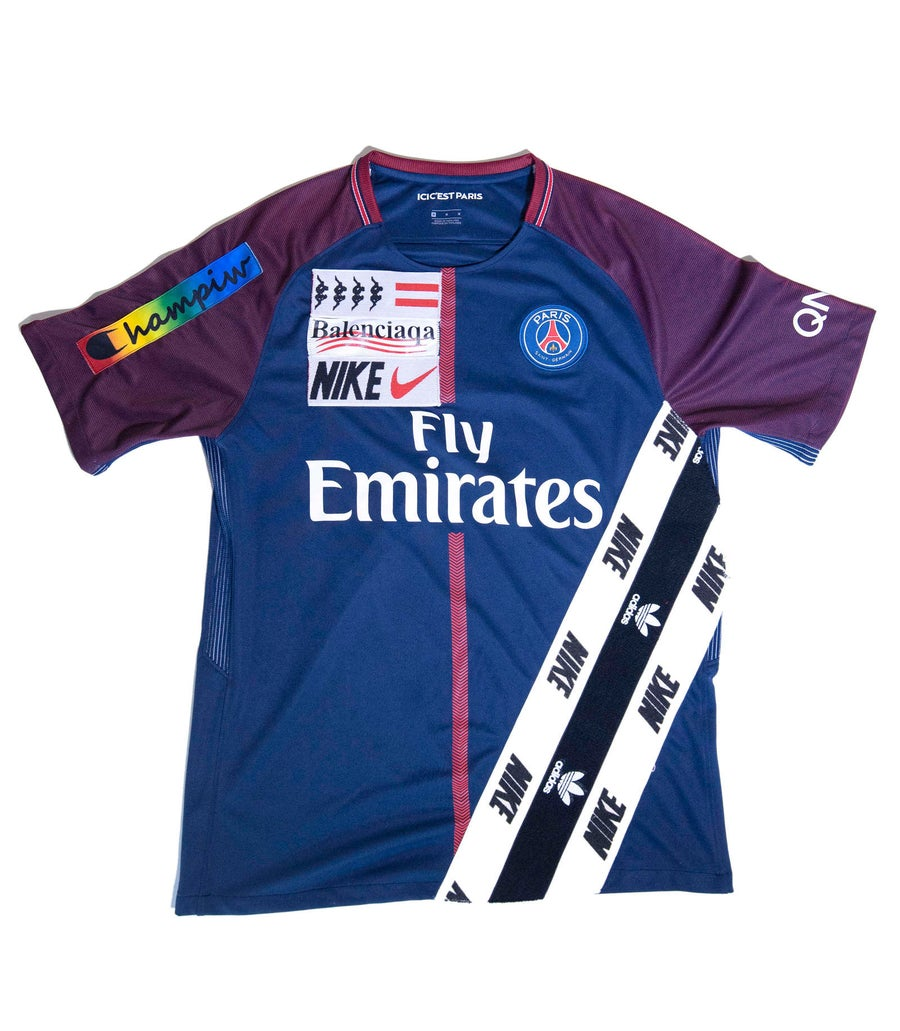 Image of SOCCER JERSEY   PSG
