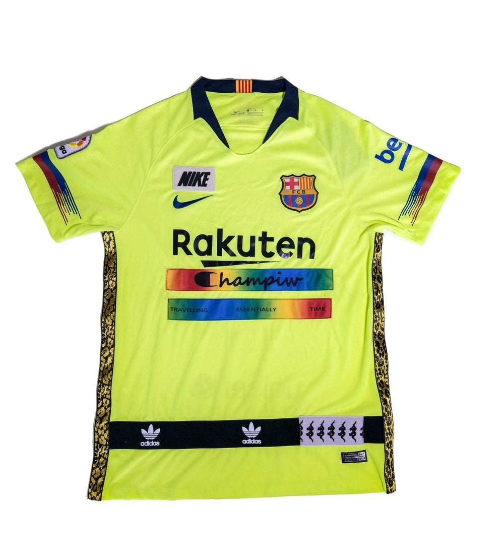 Image of SOCCER JERSEY  FCB