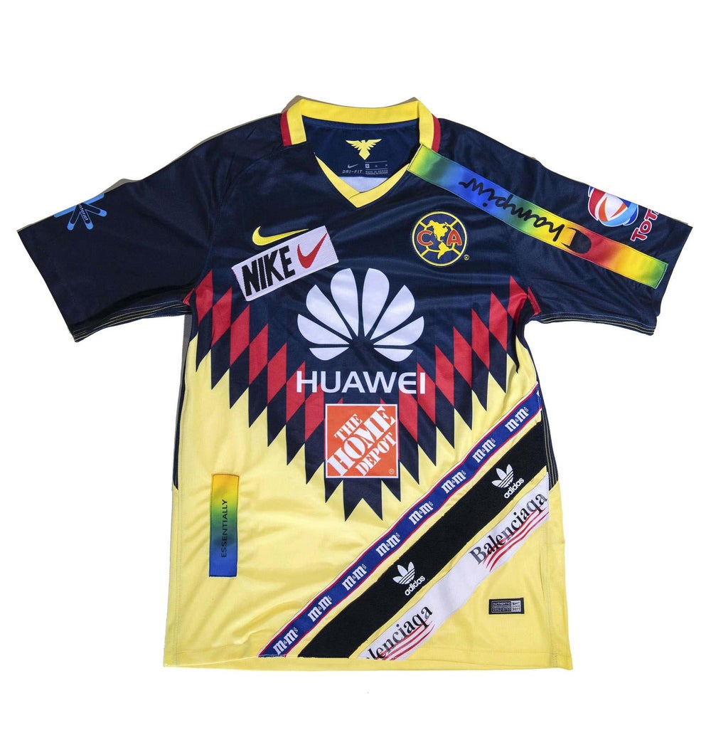Image of SOCCER JERSEY Club America