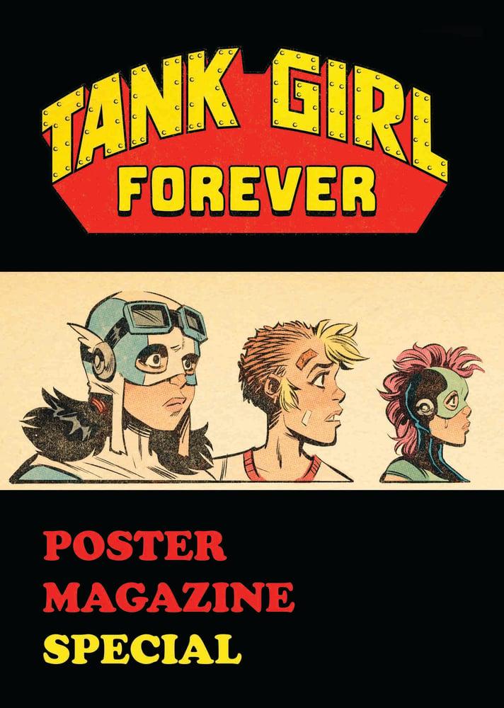 Image of Tank Girl Forever Poster Magazine - Hand Signed