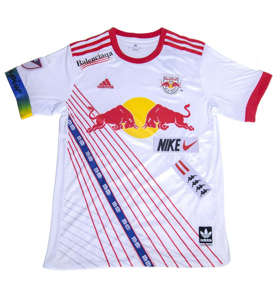 Image of SOCCER JERSEY NYC red bulls