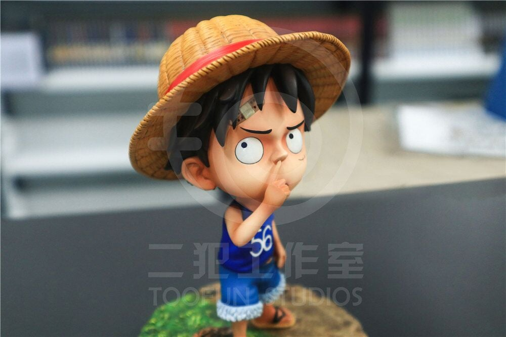 Image of [Pre-Order]One Piece TooFun Studio Kid Luffy Resin Statue