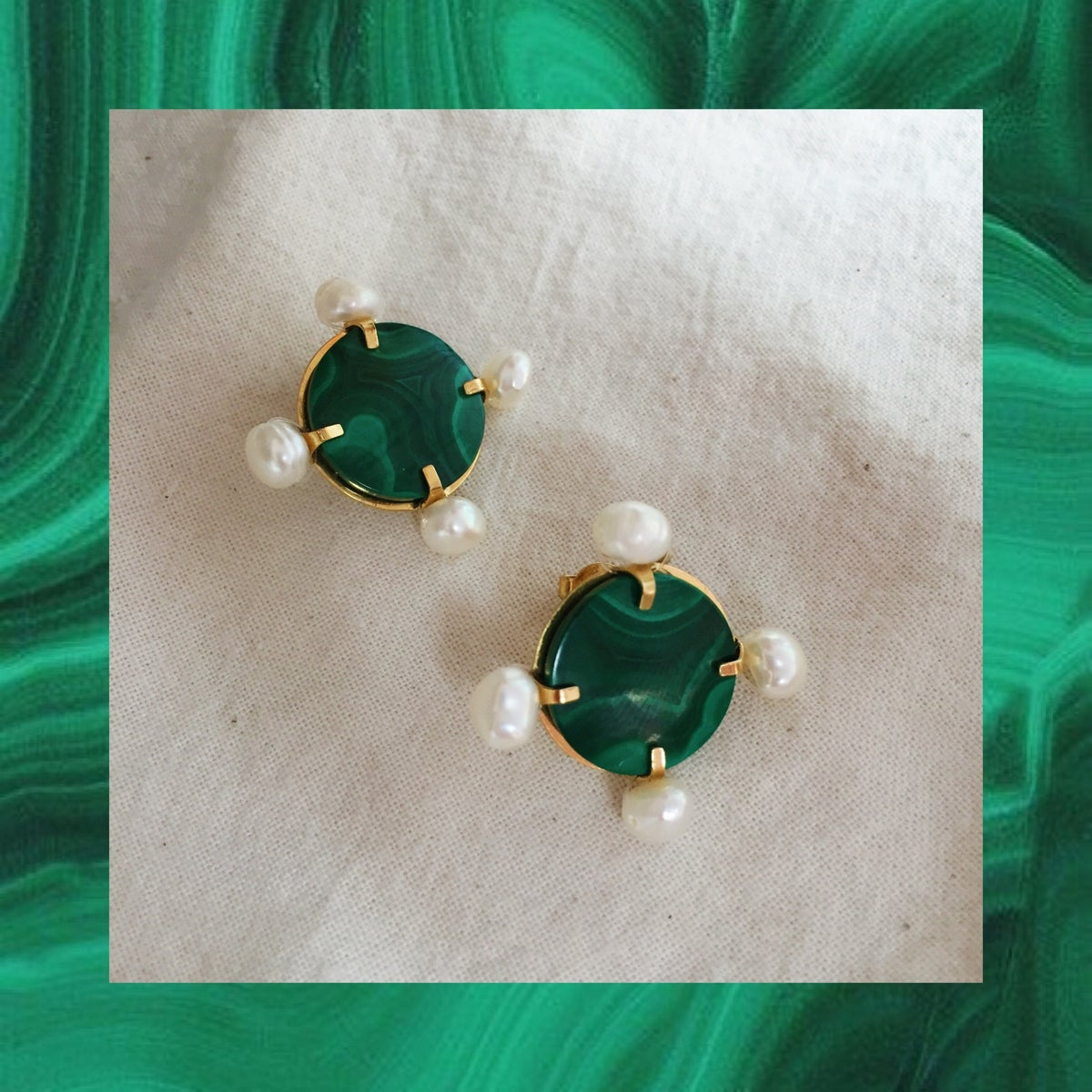 Image of Boucles malachite Romana