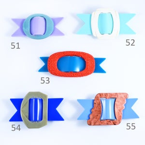 Image of Buckle brooches 51 to 55