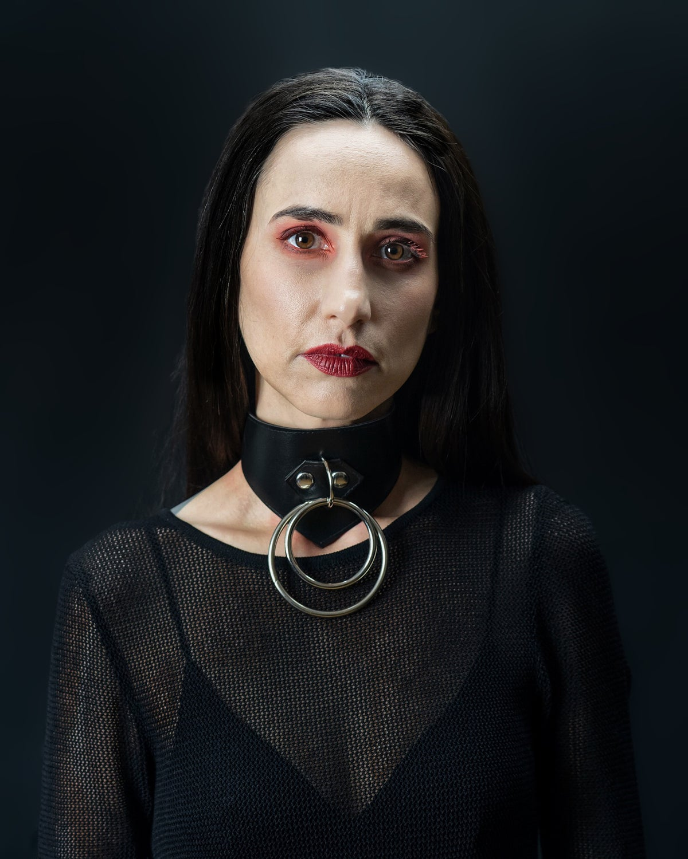 Charlotte collar silver