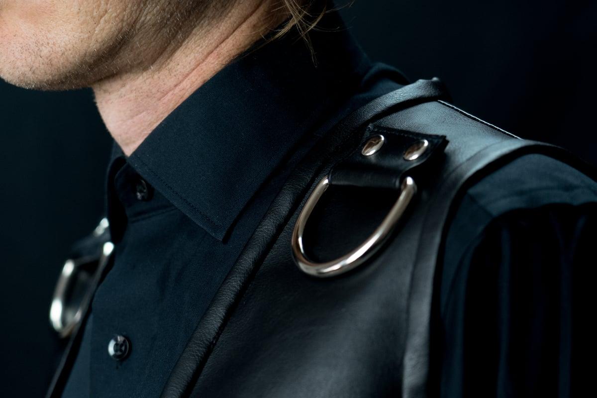 Corseted back waistcoat