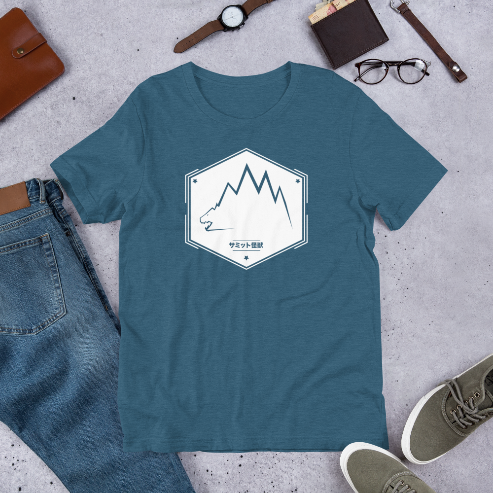 Image of SUMMIT KAIJU T-SHIRT (Teal)