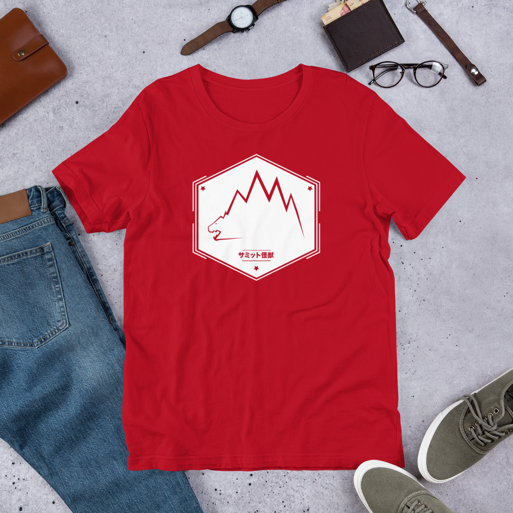 Image of SUMMIT KAIJU T-SHIRT (Red)