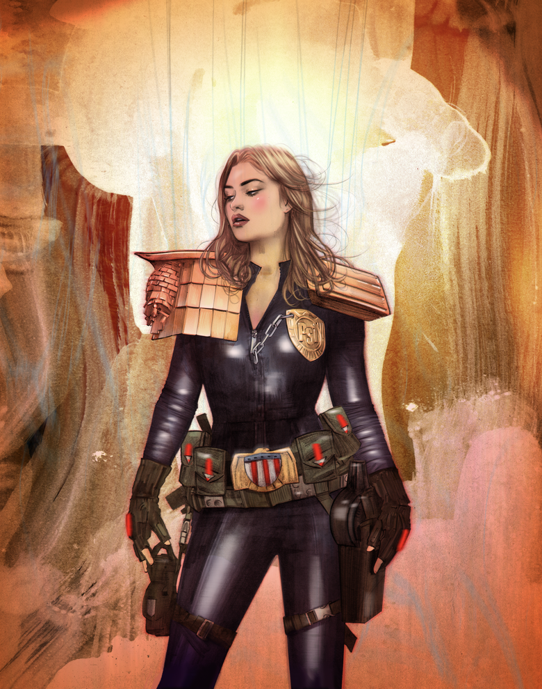 Image of SDCC EXCLUSIVE JUDGE ANDERSON 2000AD PRINT