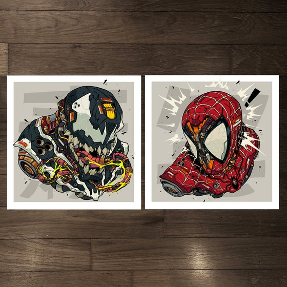 Image of MECHASOUL SPIDEY + VENOM