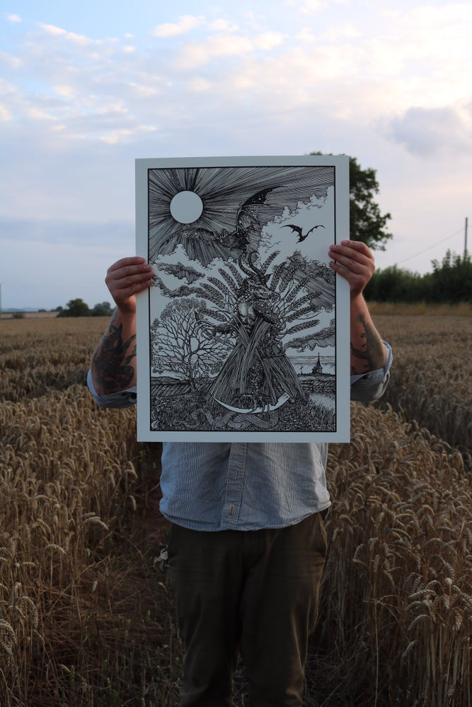 Image of A darkness that grew in the last wheat sheaf