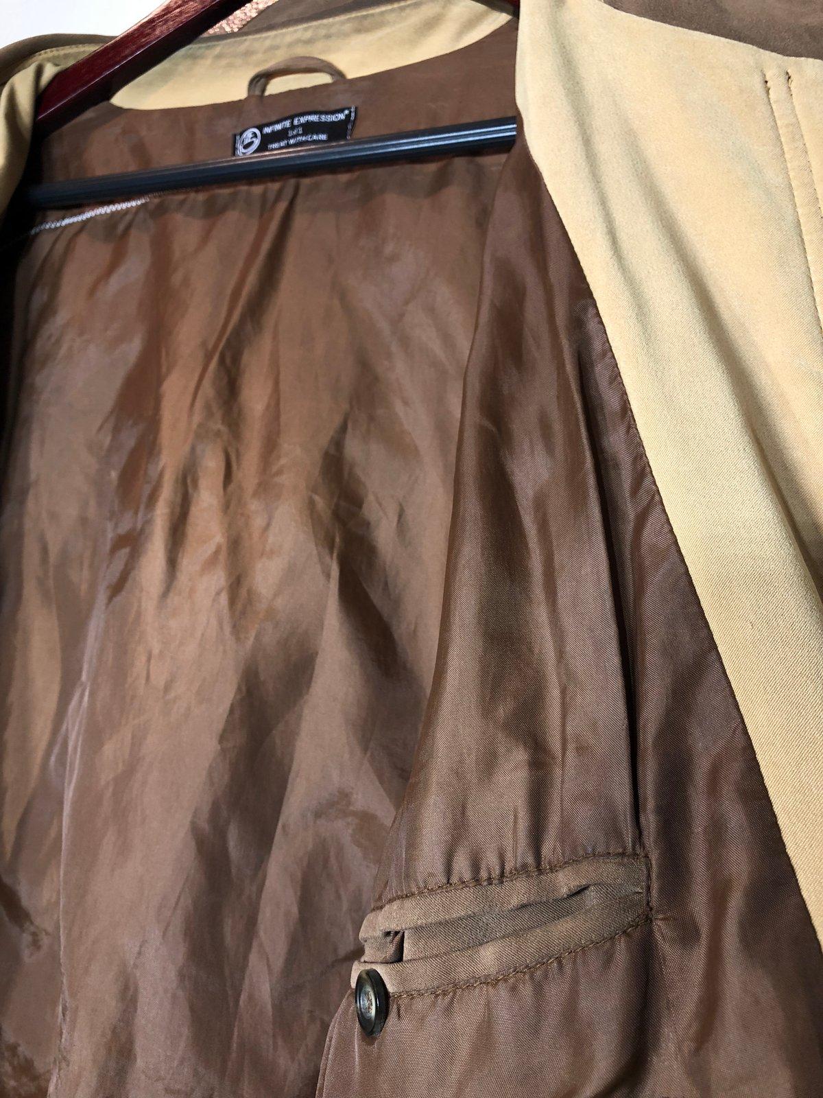 Image of Suede Waterfall Coat