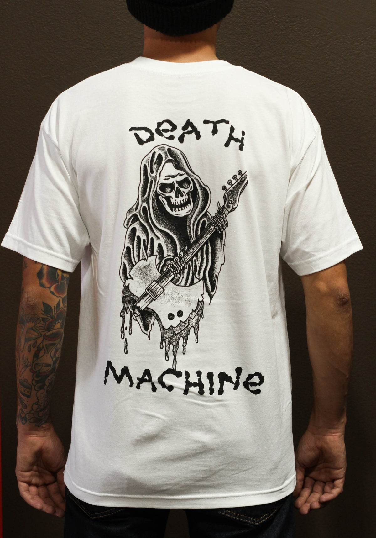 Image of DEATH REAPER TEE (WHITE)