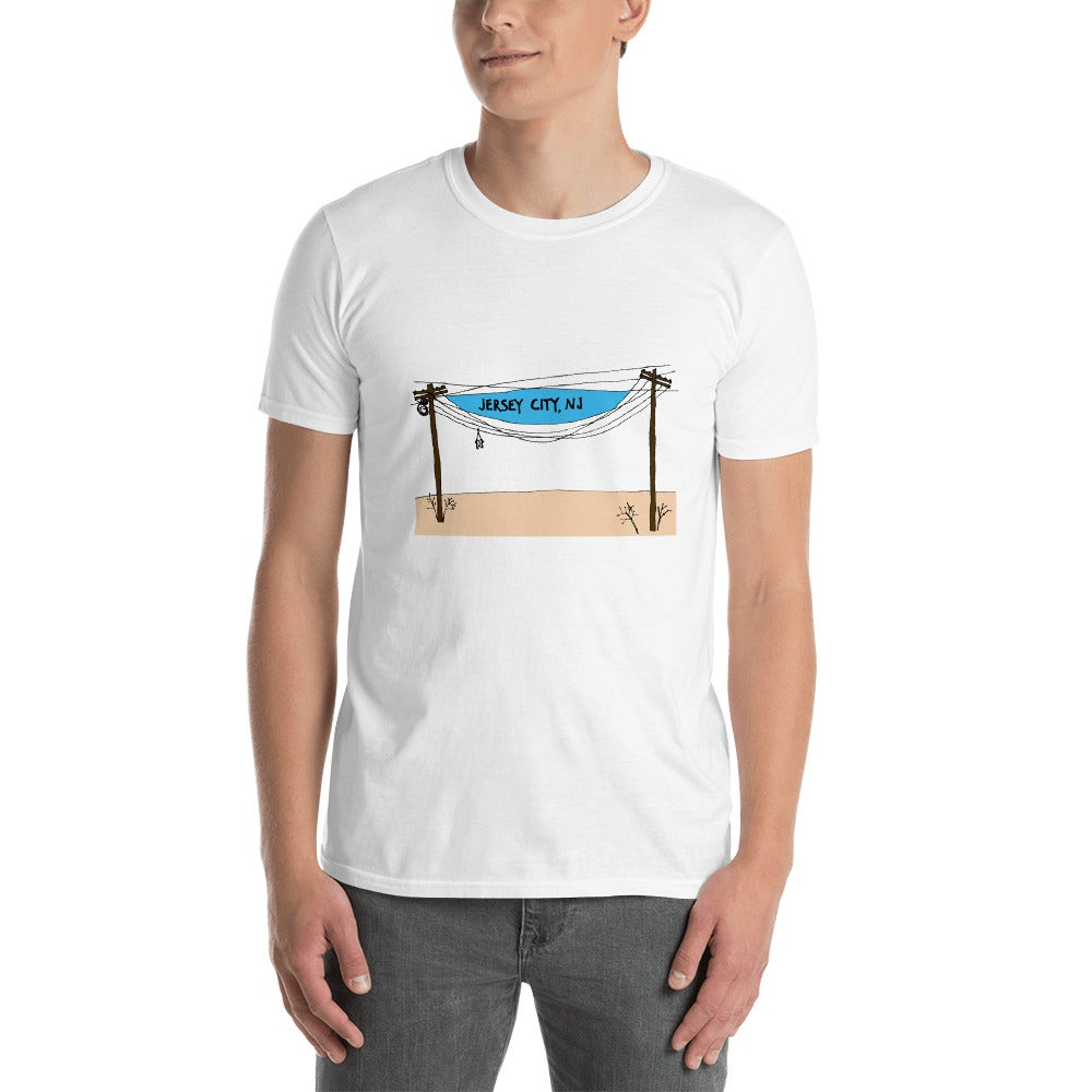 Image of Jersey City Electrical wires tshirt